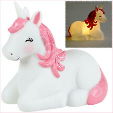 Magical Unicorn Kids Room LED Battery Night Light Baby Childrens Bedroom Lamp