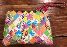 Nahui Ollin Candy Wrapper Purse Sugar Daddy Clutch Bag Wristlet NEW