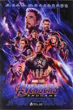 AVENGERS ENDGAME MOVIE POSTER, US VERSION size 24x36