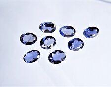 1 Iolith Cordierit Wasser Safir  Oval  blau  8 x 6  / 8 x 5,5 mm  1,00 Carat