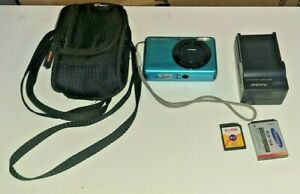 SAMSUNG SL202 10.2MP W/ 8gb Card & Carry Case Battery Wrist strap Charger Bundle