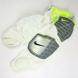 Nike Pro Hyperstrong 3.0 Compression Hard Plate Padded Pants White 584387 sz M