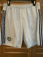 Adidas Women's Sporting KC Kansas City MLS  Athletic Soccer Shorts, inner Brief