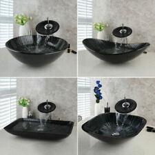 Eckige aus Glas Waschbecken & Waschtische fürs Badezimmer