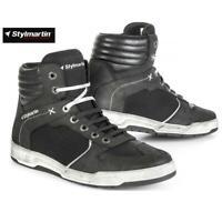 Schuh Touring Motorrad Sommerjacke IN Mesh Wasserabweisend STYLMARTIN Atom Black