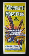 MONOLITH MONSTERS 1957 Original Australian daybill movie poster science fiction