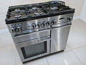 RANGEMASTER PROFESSIONAL  PLUS 90CM DUAL FUEL RANGE COOKER IN STAINLESS STE A509