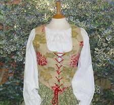 Ladies bodice waistcoat Renaissance Tudor Medieval