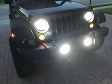 2011 2012 2013 2014 2015 2016 2017 2018 Jeep Wrangler Led Headlight Foglight Kit