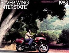 1983 HONDA SILVER WING GL650 MOTORCYCLE BROCHURE -SILVERWING INTERSTATE GL650I