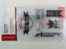 14 Clear Stamp Tampons Couture Fait Main DIY 14cm Artemio Scrapbooking Carterie