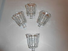 Home Interior Clear Starlight Votive Cups Set of 4