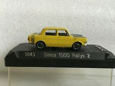 SOLIDO 1845 Simca 1000 Rallye 2 1/43