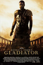 Gladiator Movie Poster 2 Sided Original Final Rolled 27x40 Russell Crowe