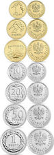 POLAND 2017 7 coins 1-2-5-10-20-50 groszy and 1 zloty