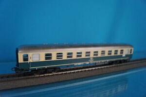Marklin 4112 DB Express Coach beige-Oceanblue 2 kl. - LED LIGHTING