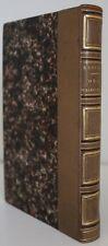 Théodore de BANVILLE Odes Funambulesques RARE E.O. Poulet-Malassis 1857 rel. ép.