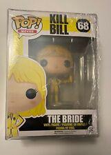 Funko Pop! Movies Kill Bill The Bride (Beatrix Kiddo) #68 W/Protector Vaulted
