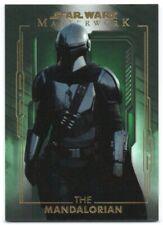 2020 Star Wars Masterwork Green 1 The Mandalorian /99