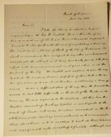 1838 JOHN BROCKENBROUGH ALS BANK VIRGINIA CSA CONFEDERATE WHITE HOUSE CIVIL WAR