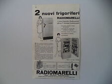 advertising Pubblicità 1959 FRIGORIFERO RADIOMARELLI FR 20 /FR 60