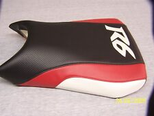 YAMAHA 03-4-05  YZF R6 FRONT SEAT COVER BLACK/RED/WHITE
