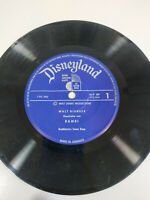 "Bambi WALT DISNEY Disneyland Deutsch Edition - Single LP vinyl 7 "" - 2T"