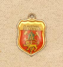 CLAUSTHAL -ZELLERFELD Bettelarmband Anhänger Wappen pendant emaille charm