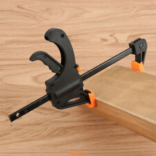 Plastic 4 inch Board clip Vise Quick Grip Release F Woodworking Bar Clamp Tool