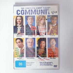 Community Season 1 TV Series DVD Region 4 AUS - Comedy