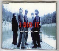 Dave Matthews Band – I Did It / Promo / CD Maxi Single (Enhanced)