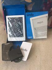 Amazon Kindle (8th Generation) 4GB, Wi-Fi, 6in - White