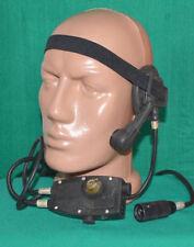 Bulgarian Army HEADSET for Military RADIO R-33 Transmitter Headphones + Mic