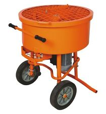 Pan Mixer 120L Cement Concrete Mortar Stucco Mixer 120 Liter 115V / 230 Volt
