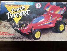 🔴  Vintage Radio Shack Radio Controlled  Flame Thrower Race Car