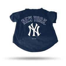 New York Yankees Small Pet Tee Shirt [NEW] MLB Dog Puppy Jersey Tshirt T