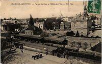 CPA    Maisons-Laffitte - Vue sur la Gare et l'Hotel de Ville   (359600)