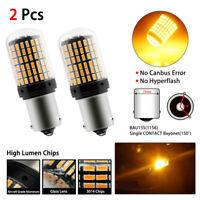 Bombillas P21W LED, Intermitencia nuevas Canbus, BAU15S (1156) 144smd, Chip 3014