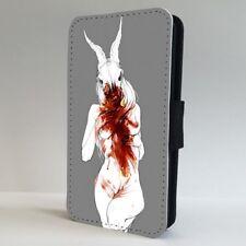 Satanic Gothic Demon Tribal Spiritual FLIP PHONE CASE COVER for IPHONE SAMSUNG