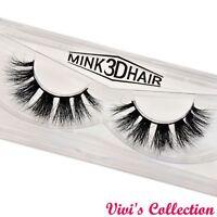 Vivis 3D Real Mink Strip Luxury False Eyelashes Premium Eye Lashes M4