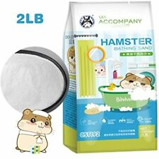 Hamster Bathing Sand, Gerbil Powder Grooming For Tiny Friends Farm Chinchilla