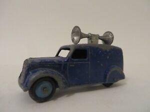 Dinky Toys No.492 Loud Speaker Van Blue England Diecast RARE!!