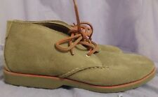 SPERRY TOP-SIDER Boys' Gunnel Mid Tan Suede Chukka Boots Size 4.5