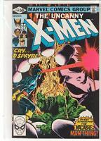 Uncanny X-men #144 Man-Thing Cyclops Wolverine 9.0