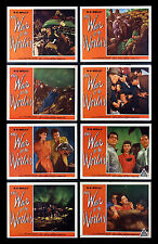WAR OF THE WORLDS * CineMasterpieces ORIGINAL MOVIE POSTER LOBBY CARD SET 1953