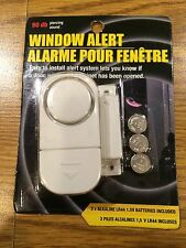 Wireless Window and Door Intruder Alert Alarm (90 db, Batteries Included) * NEW!