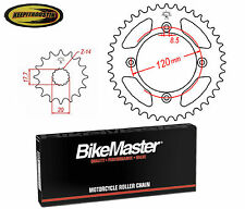 Chain and Sprocket 14 49 Fits Yamaha Yz85 2002-2007 2008 2009 2010 2011 2012