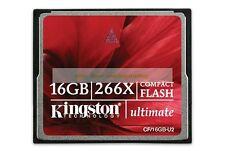 Kingston CompactFlash 16GB 16G Ultimate 266X 45MB/SEC CF Flash Memory Card New