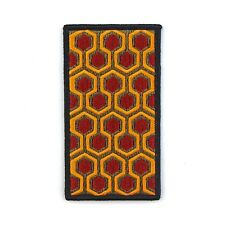 """THE SHINING CARPET PATTERN - Embroidered Patch 4"""" Horror Movie Stanley Kubrick"""