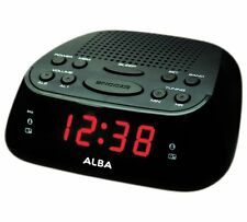 Alarm Clock Radio Comes With A Snooze Button Function Just In Case You Black